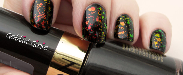 Review: Kleancolor Chunky Holo Black